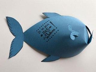 Fabriquer une baleine pop-up en papier