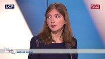 Aurore Bergé défend son groupe « extrêmement présent en commission des lois »