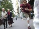 Roller quad dans Paris