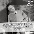 Le comédien Claude Rich est décédé