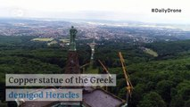 #DailyDrone: Hercules Monument | DW English