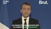 La promesse (non tenue) d'Emmanuel Macron sur l'aide publique au développement