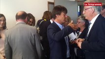 Brest. Nicolas Hulot fixe ses objectifs en matière de croissance bleue