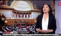 Table ronde couverture numérique du territoire - Les matins du Sénat (21/07/2017)
