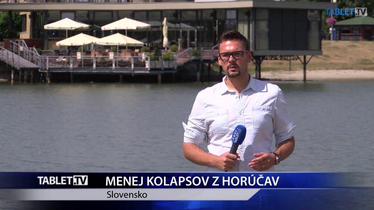 Horúčavy dali Slovákom zabrať: Z tepla skolabovalo 41 ľudí