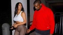 Kanye West Grabs Kim Kardashian Lovingly On A Sweet Date