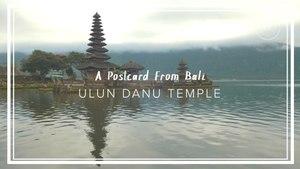 A Historic Temple in Bali