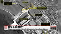 Chance of more SLBM launches rising with N. Korean submarines detected at Sinpo South Shipyard