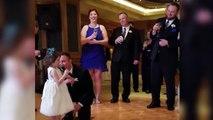 Quand ta fille veut à tout prix faire un discours pour le mariage... Adorable