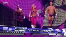 The Hart Dynasty (w/ Natalya) vs. Cryme Tyme