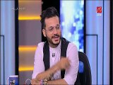 إيساف مداعبا مذيعة «أم بى سى مصر»: شكلك حلو