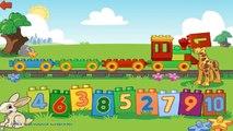 Et enfants les couleurs comte pour Apprendre nombres à Il Entrainer les trains vidéo LEGO 10847 k