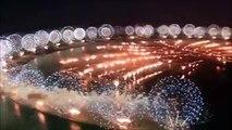 Fuegos artificiales Nuevo año Dubai 2017 fuegos artificiales de Año Nuevo Dubai 2017 HD