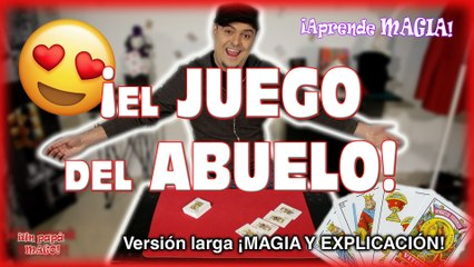TRUCO DE MAGIA   EL JUEGO DE MI ABUELO   APRENDE MAGIA   Is Family Friendly