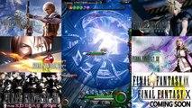 Mobius Final Fantasy High Level Gameplay FF7 - FF8 - FF12 - FF13 Limit Breaks Final Fantas