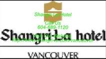 Shangri-La Hotel - best hotels in vancouver - luxury hotels vancouver