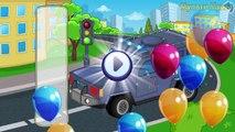 Coches y camiones calle vehículos vídeos para Niños rompecabezas coches para Niños