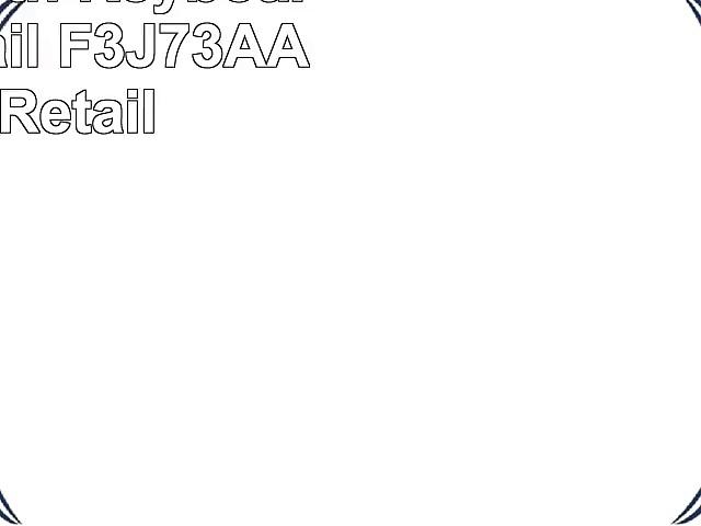 HP Bluetooth Keyboard New Retail F3J73AA New Retail
