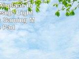 Rikki Knight Large Passenger Airplane in Sunset Design Lightning Series Gaming Mouse Pad