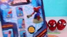 Juguetes Burbujas y Huevos Sorpresa de el Hombre Araña | Spiderman Bubbles and Surprise E