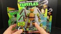 Ninja Turtles Mutations Donatello Replaces Splinter Broken Arms with Metal Head Arms Toy R