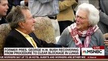 George H.W. Bush, Barbara Bush Remain Hospitalized | Morning Joe | MSNBC