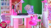 Cheveux tatouages pour Barbie tatouages cheveux décompactage examen du nouveau jouet barbie mattel