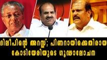 PC George Against Kodiyeri Balakrishnan   Oneindia Malayalam