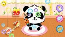 Niños para y cuidado del bebé panda bebé panda come obras de excrementos de d
