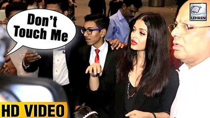Aishwarya Rai's Shocking REACTION When A Passenger Shouts 'DON'T TOUCH ME