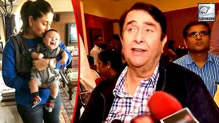 Randhir Kapoor SLAMS Trollers Over Kareena & Taimur