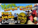 Shrek Smash n' Crash Racing Part 2 - FULL GAME - Donkey & Dragon (PS2, PSP, Gamecube)