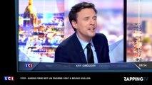 François-Xavier Ménage quitte LCI, l'amusant passage de témoin à Pascale de la Tour du Pin (vidéo)
