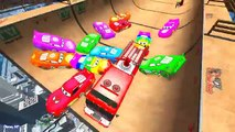 Löschfahrzeug für Kinder und Spiderman Zeichentrickfilm in Farbe Autos für Kinder mit mehr Kinderre