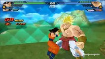 Fusion Vegeta blue SSJ God and Goku Red Super Saiyan God into Gogeta (DBZ Tenkaichi 3 mod)