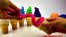 Play Doh Slime Goo Minecraft Frozen Spiderman Cartoon Surprise Eggs Toys Strawbe