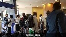 Première séance d'entrainement des Lionnes à Paris