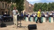 Tour de France à Marseille : Serge Dupire en concert place Bargemon