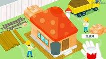 Construire béton fouilleur pour les machines table de mixage camions vidéos Chantier de construction bulldozer