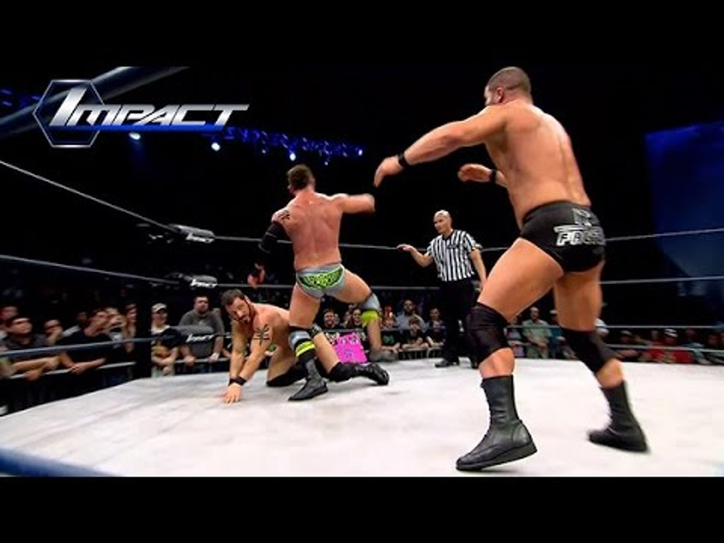 6 Man Tag:  Bobby Roode, Austin Aries & Mr. Anderson vs. Tyrus, EC3 & Eric Young (Mar. 27, 2