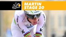 Martin grimpe / climbing - Étape 20 / Stage 20 - Tour de France 2017