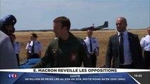 Emmanuel Macron dans Top Gun !