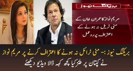 Maryam Nawaz Response on Imran Khan Not Giving Document in Supreme Court by ZemTV Official - Dailymotion