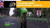 The ŠKODA green jersey minute - Stage 20 - Tour de France 2017