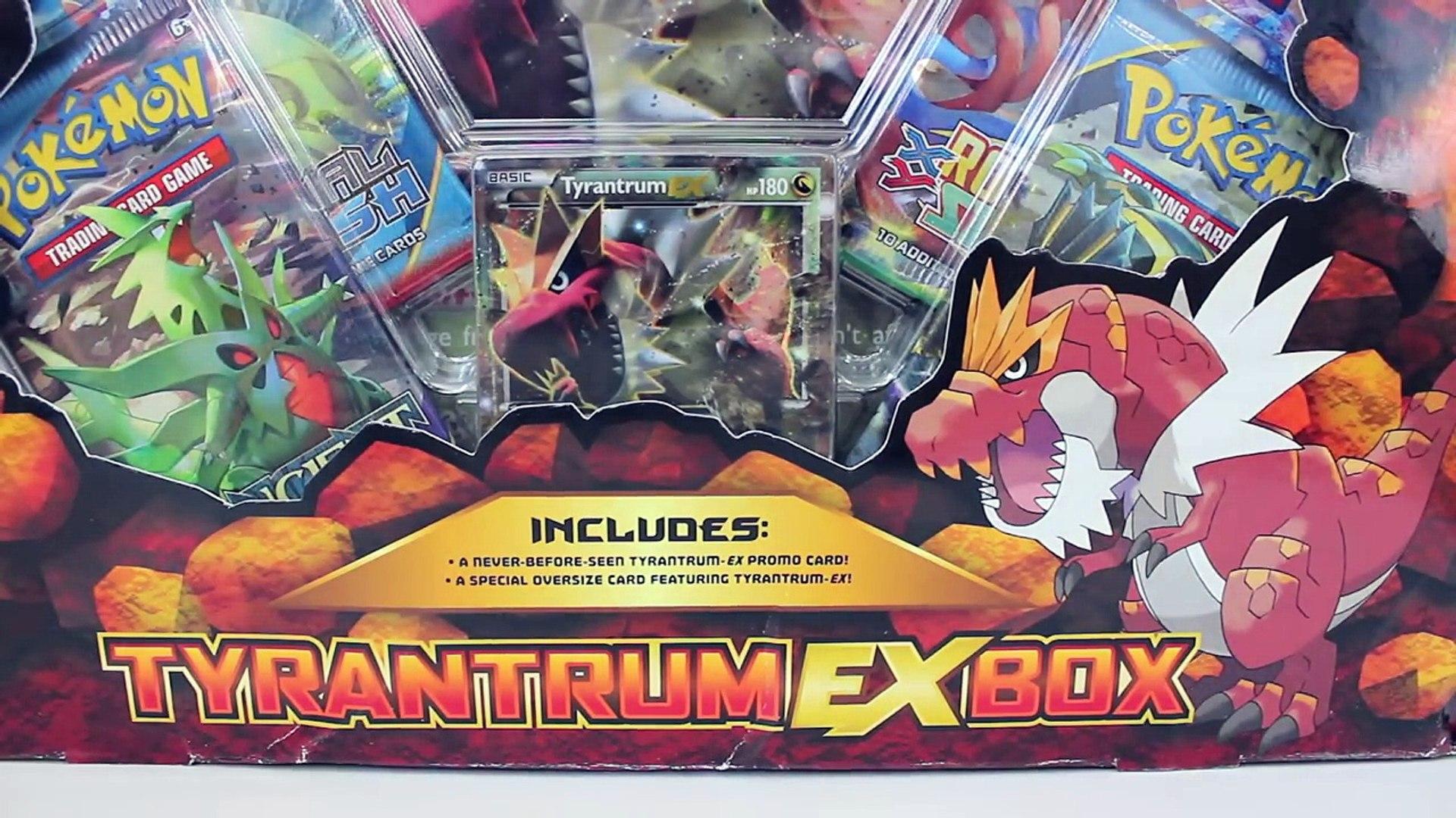 Pokemon Tyrantrum Ex Box Opening