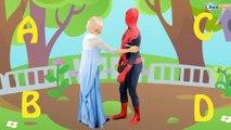 Elsa Learn abc alphabet song | 3d rhyme | english nursery rhymes