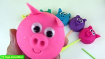 Et bébé enfants couleurs éducation visages pour amusement amusement apprentissage porc jouer formes sourire Doh v