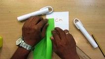 How to Make a Paper Nunchakus | Easy paper Ninja Weapon Tutorials
