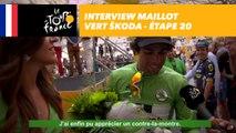 L'interview du maillot vert ŠKODA - Étape 20 - Tour de France 2017