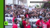 «On ne lâchera pas»: un millier de personnes marchent pour Adama Traoré à Beaumont-sur-Oise